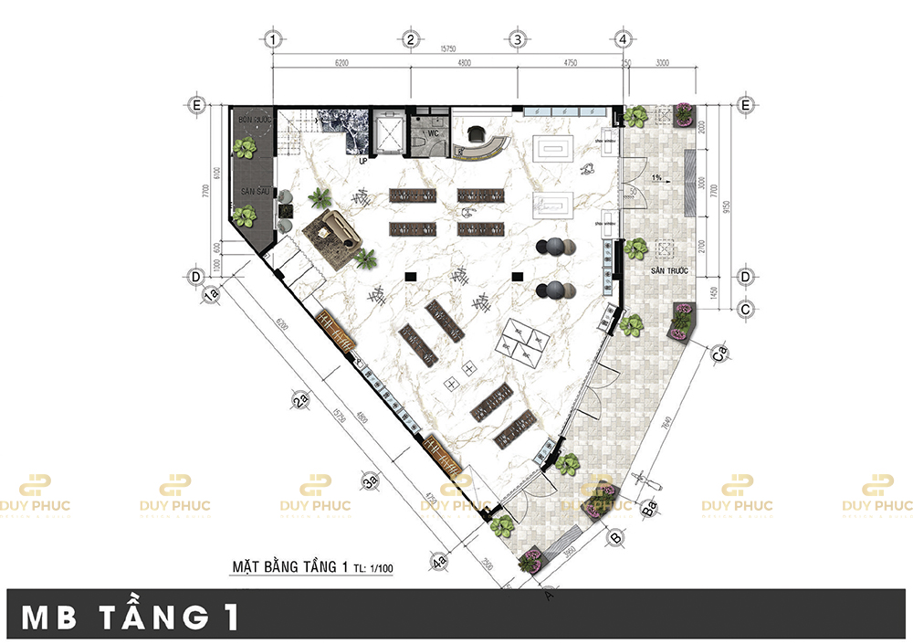 Shophouse T5-24 Khu Đô Thị Vạn Phúc